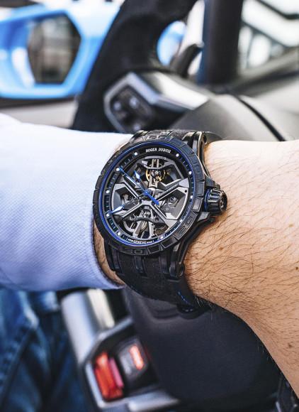 Часы Excalibur Huracan blue