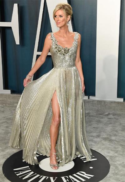 Никки Хилтон в платье Oscar de la Renta на афтепати «Оскара»