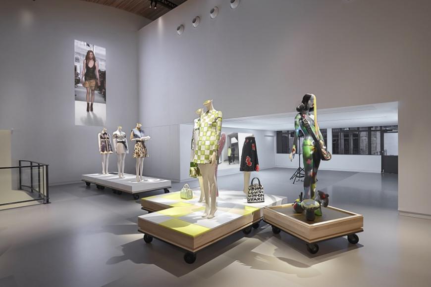 Пространство музея La Galerie в Аньере