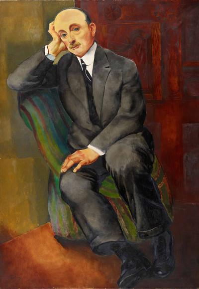 Моисей Кислинг. «Мужской портрет (Йонас Неттер)», 1920