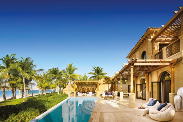 Бассейн на вилле, отель One&Only The Palm (Дубай)