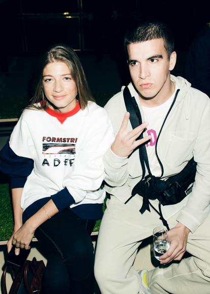 Саша Новикова и Федук