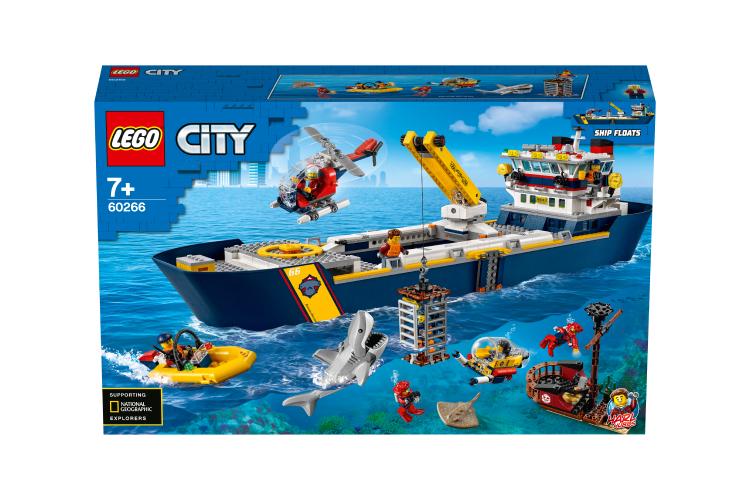 Конструктор «Океан: исследовательское судно»,Lego City, 10 999 руб. (Lego)
