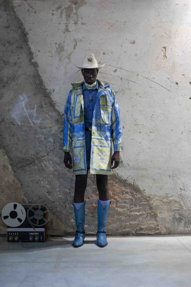 Thebe Magugu, весна-лето 2022