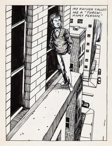 Рэймонд Петтибон. «Без названия (Мой отец называл...)», 1982