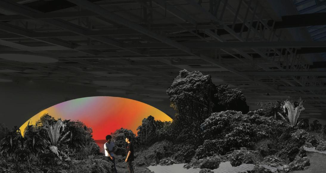 Эскиз к выставке Recycle