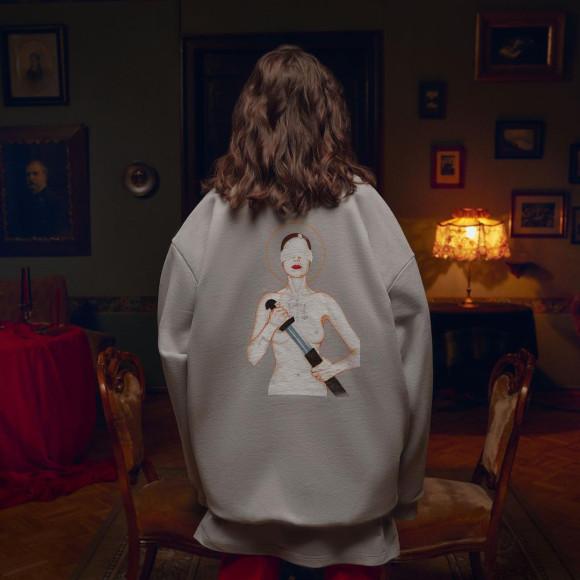 Лукбук коллаборации Monochrome и Маши Янковской, снятый в интерьерах Дома-музея М.Н. Ермоловой