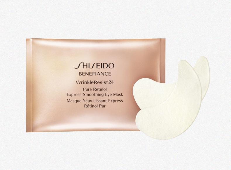 Патчи для глаз подтягивающие кожу Wrinkle Resist 24, Shiseido