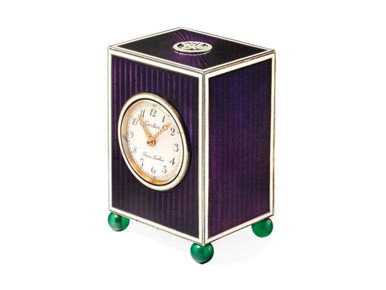 Часы в стиле Belle Epoque, 1910-е,эстимейт 20-30 тыс. CHF
