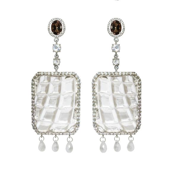 Серьги Family Christal, Dzhanelli Jewellery