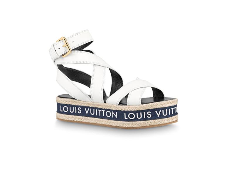Женские сандалии Louis Vuitton, 71 500 руб. (Louis Vuitton)