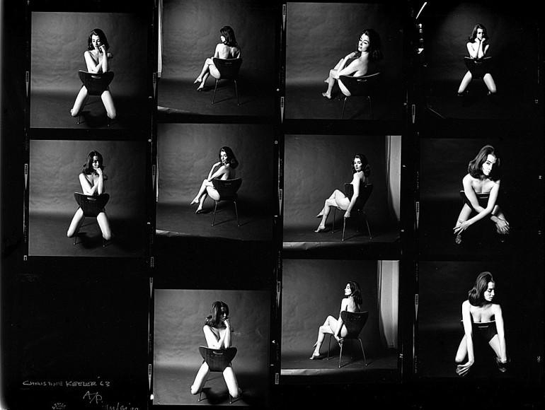 Кристин Килер, фото Льюиса Морли, 1963