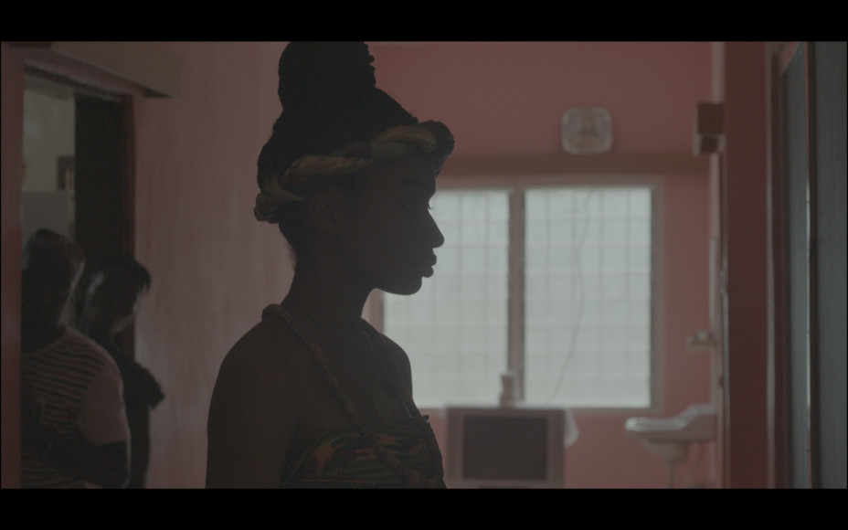 Аманфопон. Джейн. Кадры из документального фильма, рабочее название фильма – «Африка подскажет»