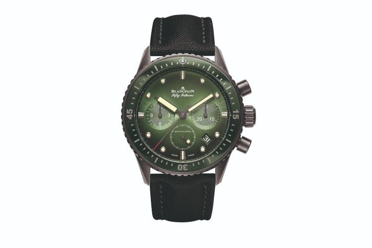 Часы Fifty Fathoms Bathyscaphe Chronograph Flyback, Blancpain