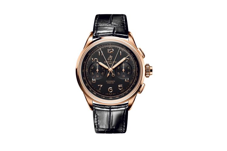 Часы Premier B15 Heritage Duograph 42, Breitling