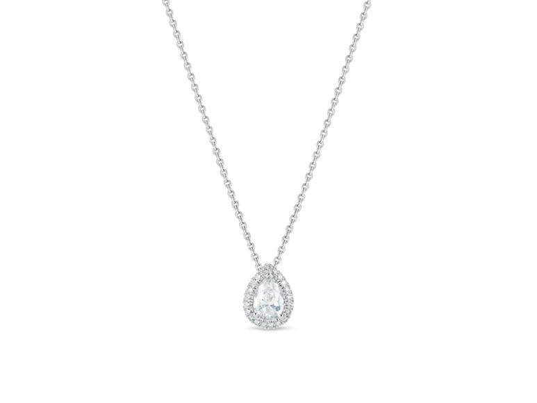 Подвеска Aura, бриллиант огранки «груша» весом 0,5 карата