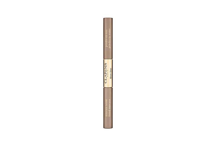 Средство для макияжа и фиксации бровей Brow Duo Easy Collection 2020, оттенок 01 Tawny Blond, Clarins