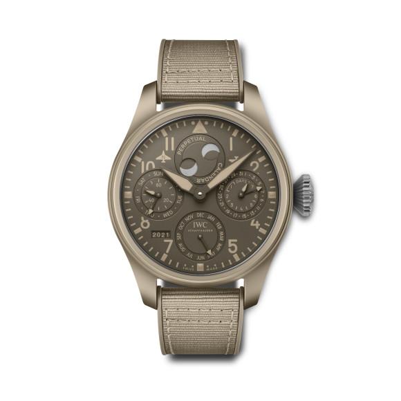 Часы Big Pilot's Watch Perpetual Calendar TOP GUN Edition «Mojave Desert», IWC