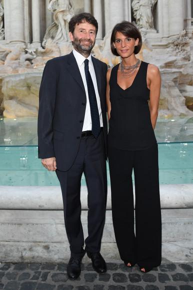 Дарио Франческини с женой