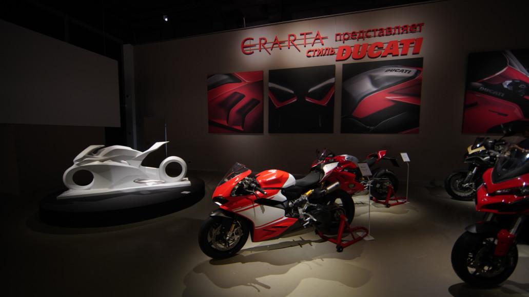 Легендарный мотоцикл Superleggera