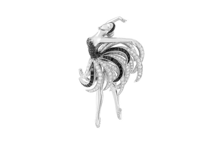 Брошь-балерина Swan Lake Ballet Precieux Russie, Van Cleef & Arpels