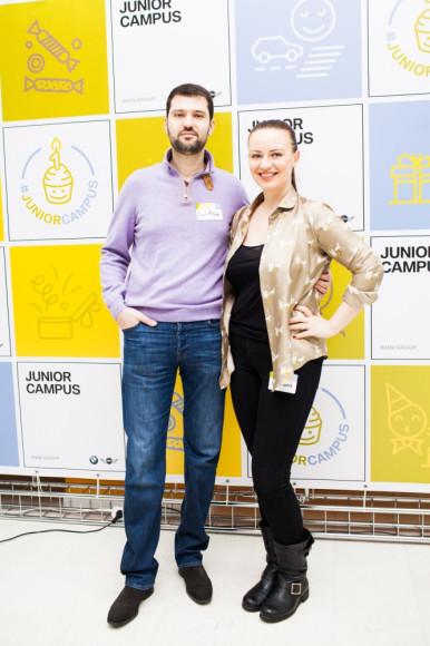 Евгения Варшавская с супругом