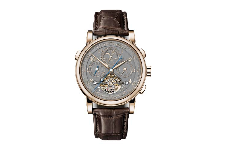 Сложные часы Turbograph Perpetual Honeygold, Homage to F.A. Lange, A.Lange & Söhne