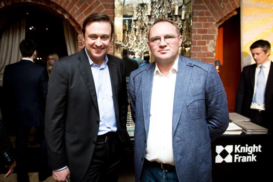 Финансовый директор Газпром Шельф Сергей Зенин и Игрок КВН Валерий Закутский