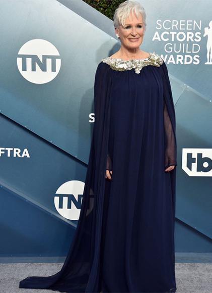 Гленн Клоуз в платье Oscar de la Renta на премии Гильдии киноактеров США