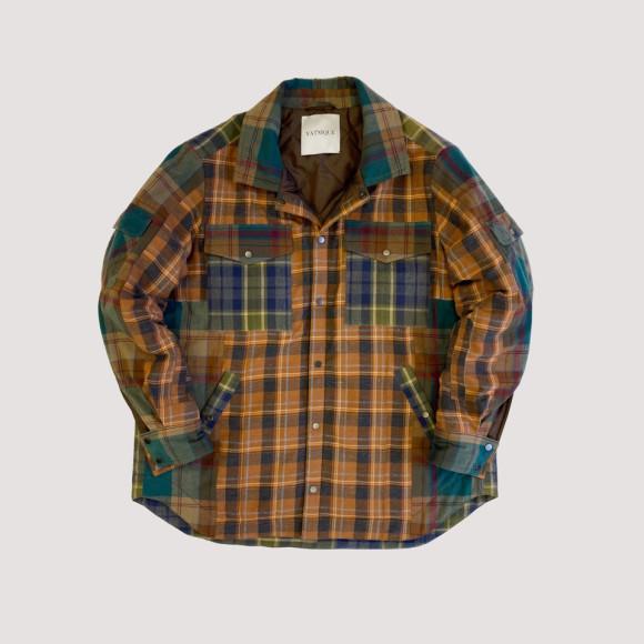 Куртка Vatnique из переработанных фланелевых рубашек