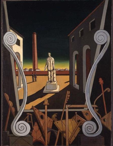 «Площадь Италии (Памятник поэту)», 1969