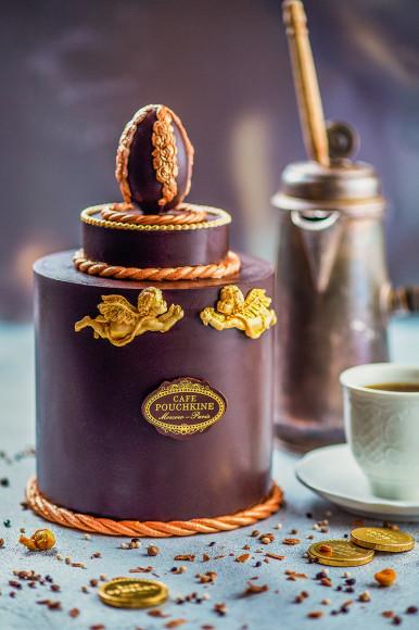 Кулич в шоколаде
