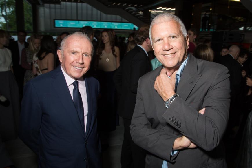 Бизнесмен Франсуа Пино и галерист Ларри Гагосян