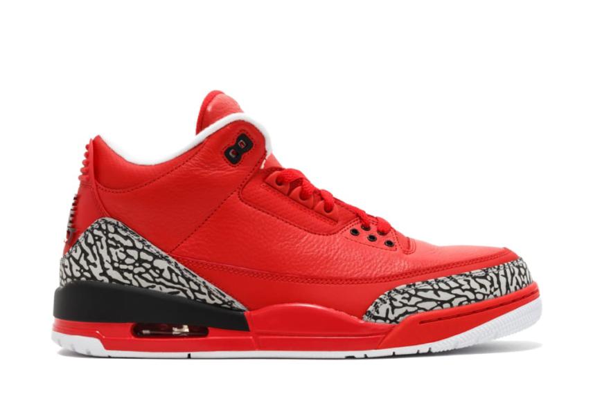 """Air Jordan III """"Grateful"""" — $ 13 250"""