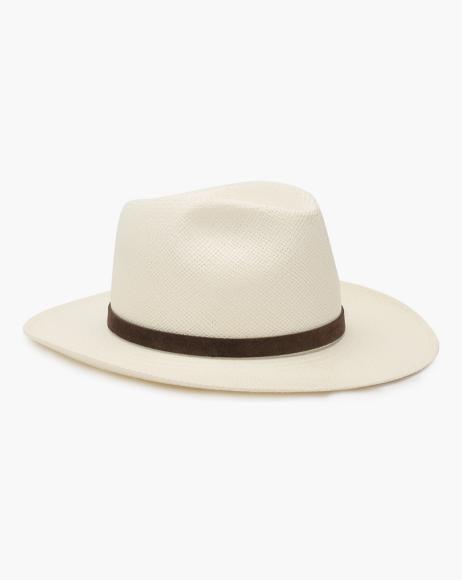 Соломенная шляпа Brioni («Барвиха Luxury Village»), 32 800 руб.