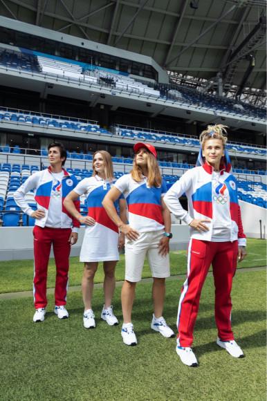 Форма Zasport для спортсменов из России