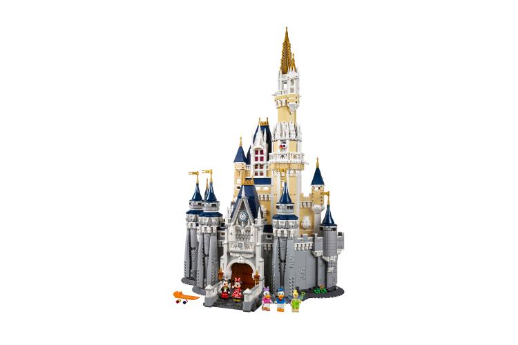 Набор Lego с замком Спящей красавицы