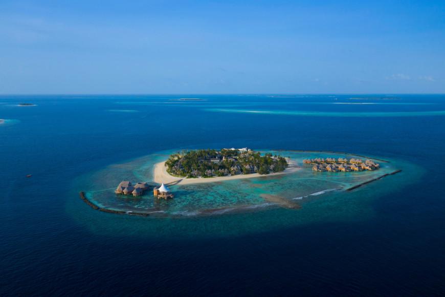 Остров Тиладу в атоллеБаа