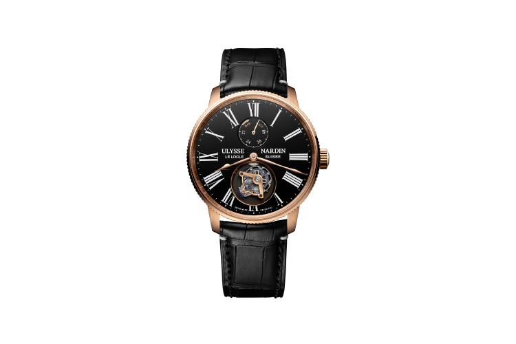 Часы Marine Torpilleur Tourbillon Grand Feu 42 mm, Ulysse Nardin