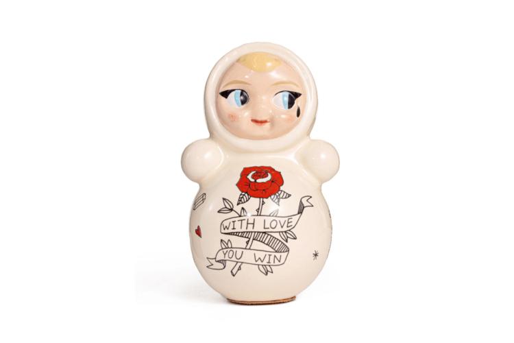 Неваляшка Asiknova.ceramic X Glove.me, 19 000 руб. (glome.me)
