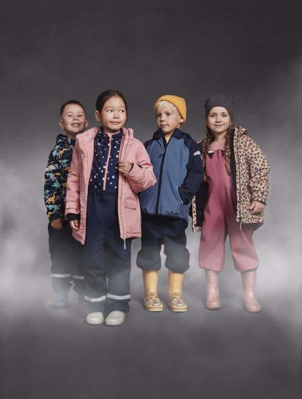 Елисей, Янжима, Эван, Агния (слева-направо)— амбассадоры H&M в России