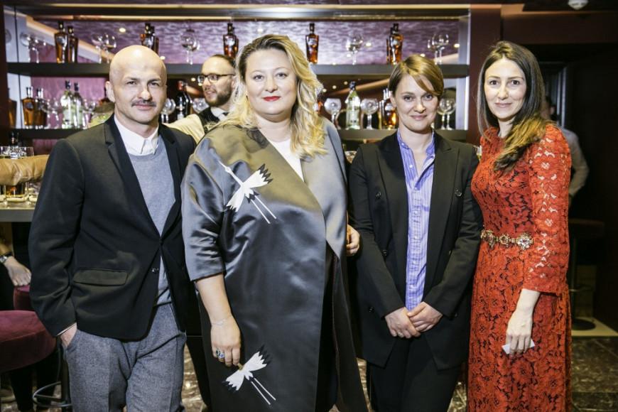Анзор Канкулов, главный редактор Port, Мария Федорова, главный редактор Glamour, Екатерина Павелко, директор моды Esquire