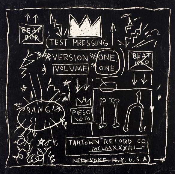Обложка к синглу Beat Bop рэперов Rammellzee и K-Rob