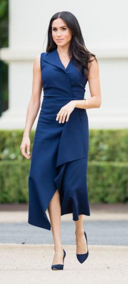 Меган Маркл в платье Dion Lee