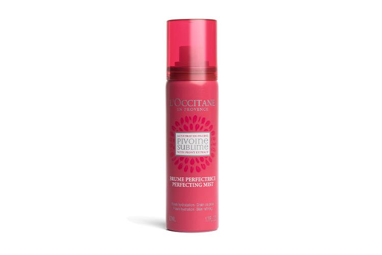 Тоник-спрей «Пион», L'Occitane с экстрактом пиона выравнивает текстуру, сужает поры, увлажняет, защищает и разглаживает кожу