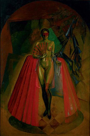 Даниил Черкес. «Женщина в веках», 1920-е
