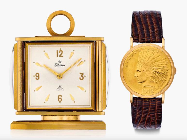 Настольные часы Relide и наручные часы Eska Джо ДиМаджо