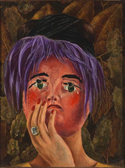 Фрида Кало. Маска (безумия). 1945