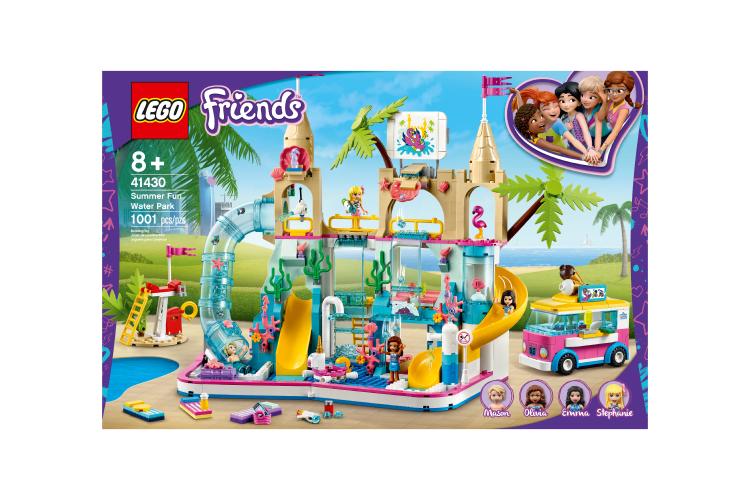Конструктор«Летний аквапарк»,Lego Friends, 7999 руб. (Lego)