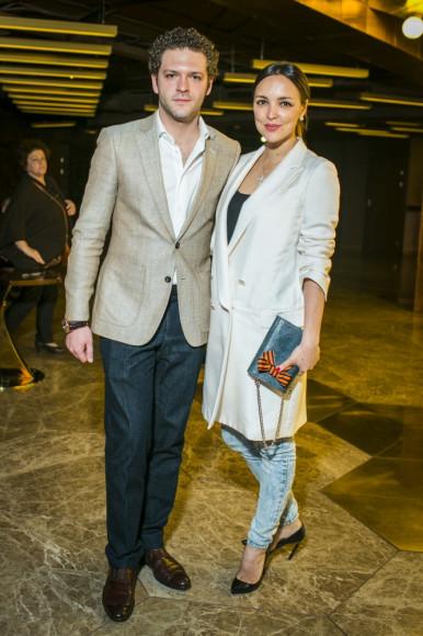 Константин Крюков (актер) с супргугой Алиной Алексеевой